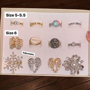 Fashionable Rings (5 for $30) - NWOT